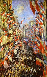 Rue Montorgueil by Monet